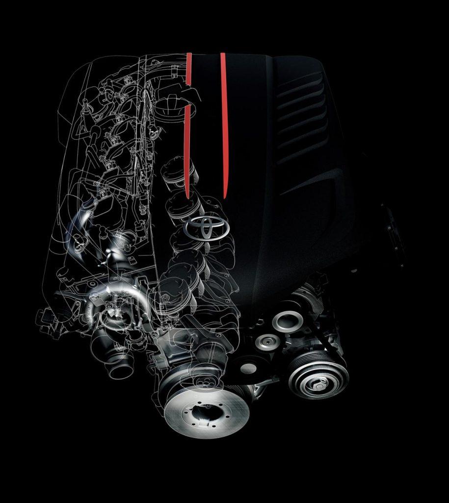 GRスープラ3Lエンジン