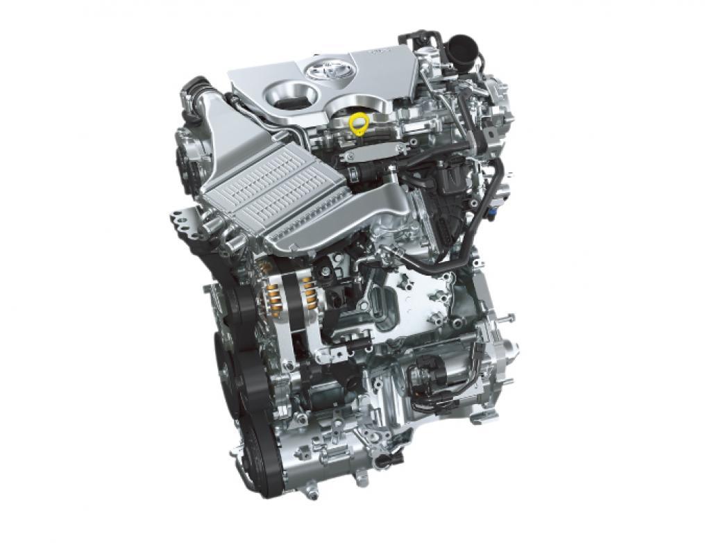 カローラ1.2Lターボエンジン