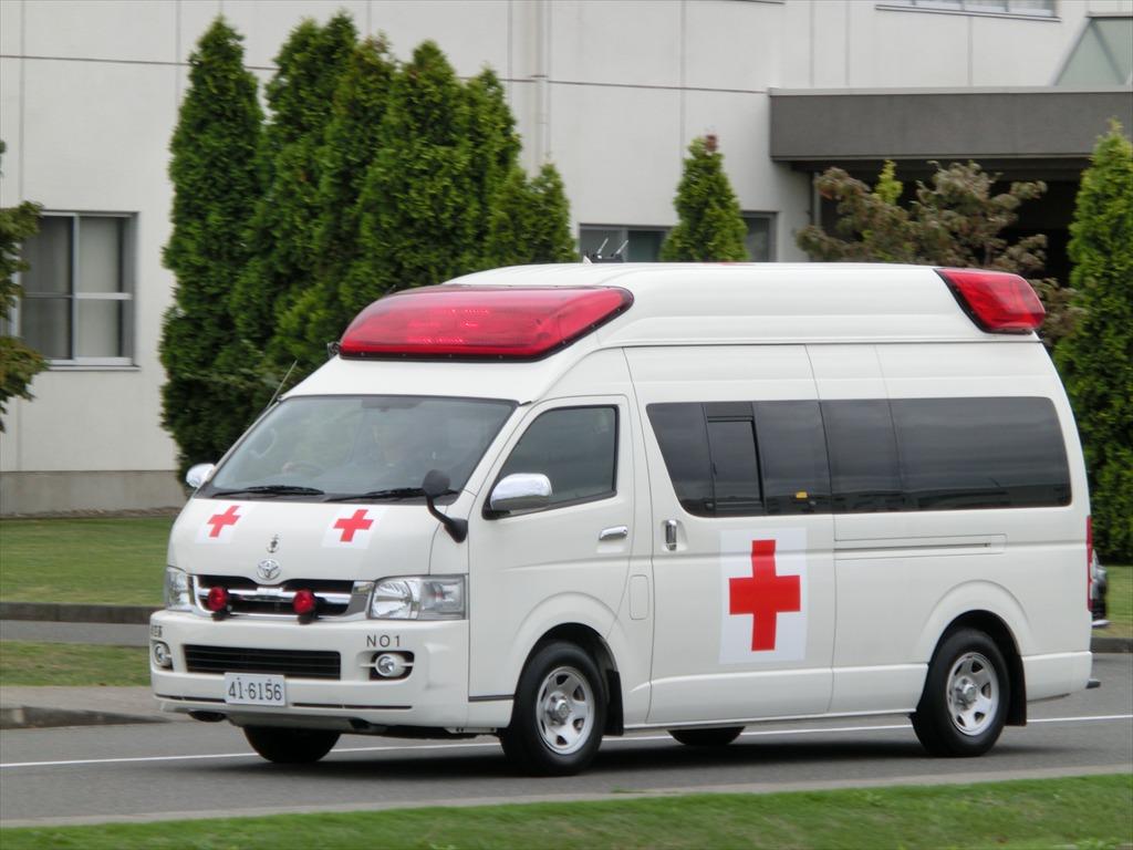救急車 自衛隊