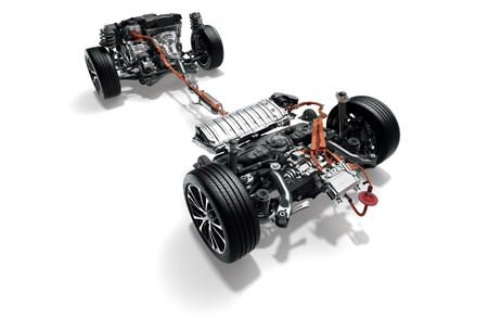 カムリ 4WDシステム