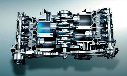 インプレッサG4 2.0L直噴エンジン
