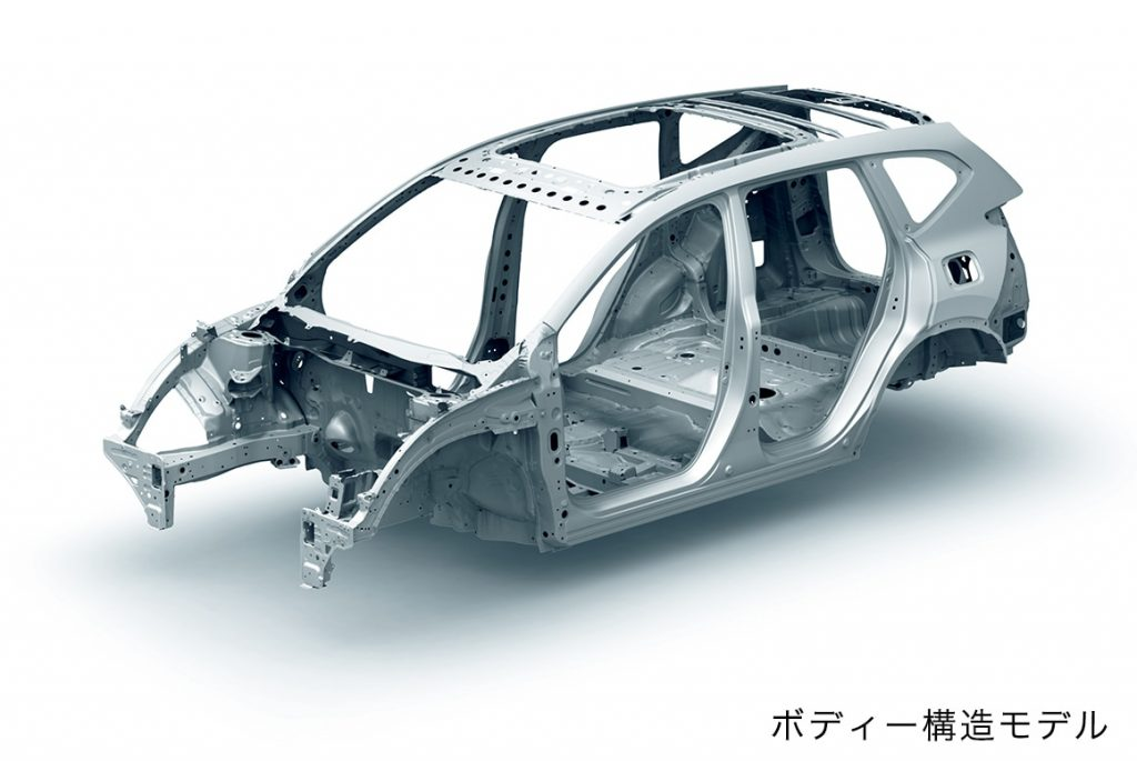 CR-V ボディ骨格