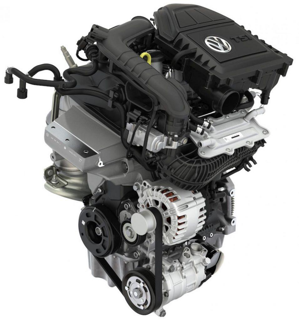 ポロ 1.0L TSIエンジン