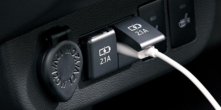 ミラトコット USB電源ソケット(2口)