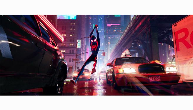 ドライブインシアター スパイダーマン:スパイダーバース