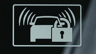 自動車盗難 セキュリティアラーム