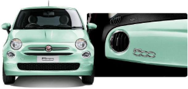 フィアット500 Mint Green(ミントグリーン)