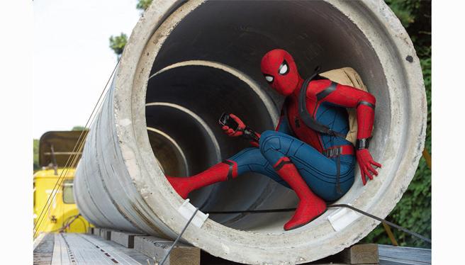 ドライブインシアター スパイダーマン ホームカミング