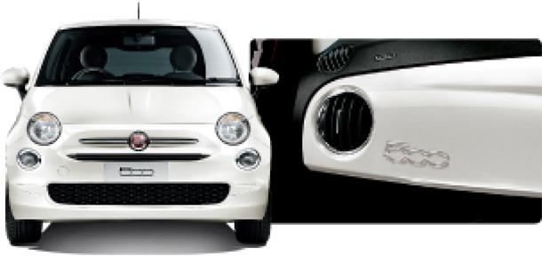 フィアット500 Bossa Nova White(ボサノバ ホワイト)