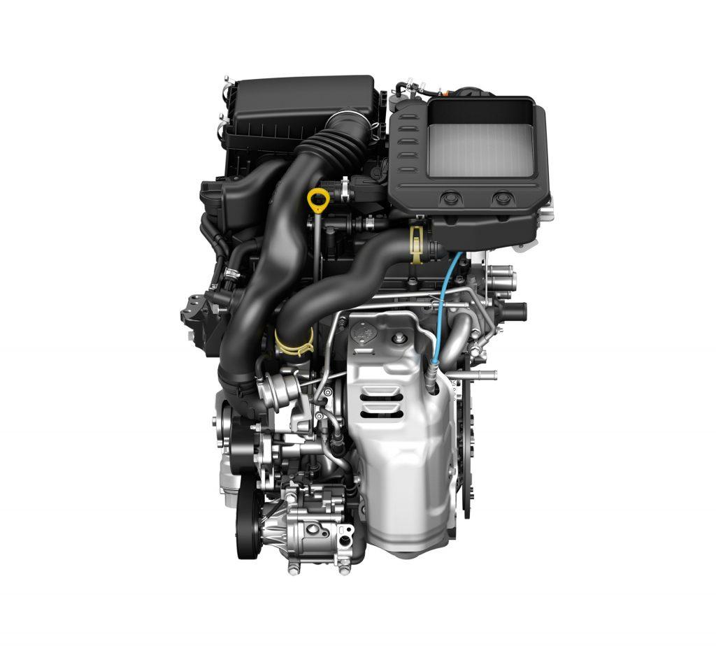 ライズ 1.0L ターボエンジン