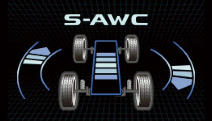 アウトランダー S-AWC(Super All Wheel Control)