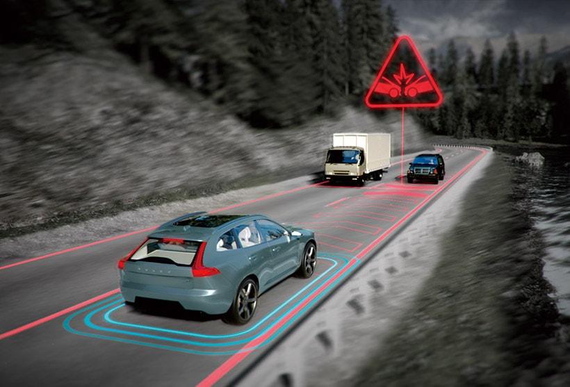 s60 対向車対応機能