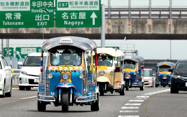 トゥクトゥク 日本