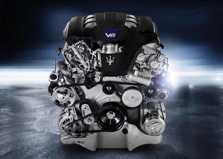 ギブリ V6エンジン