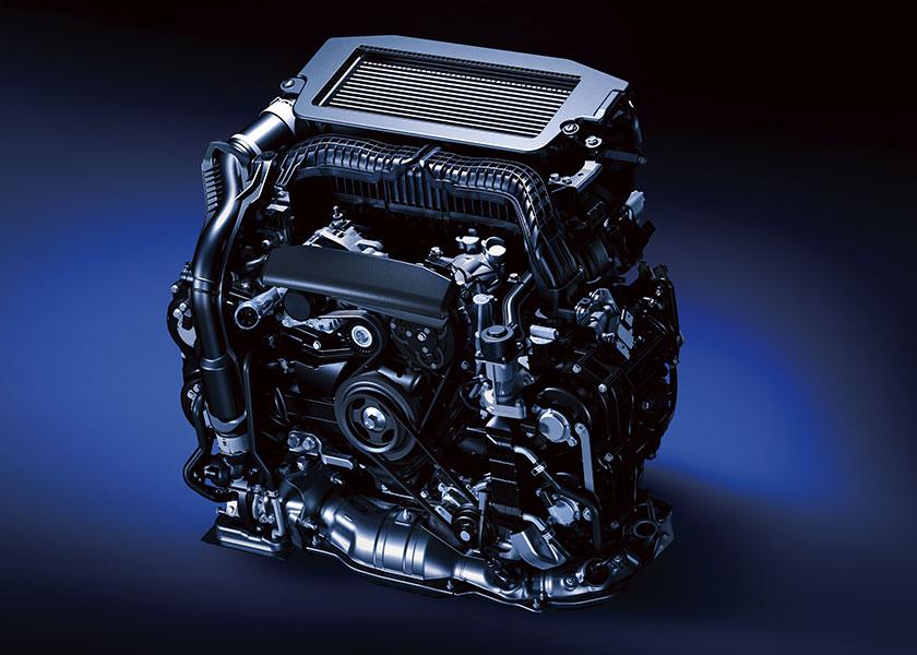 レヴォーグ 1.8Lエンジン