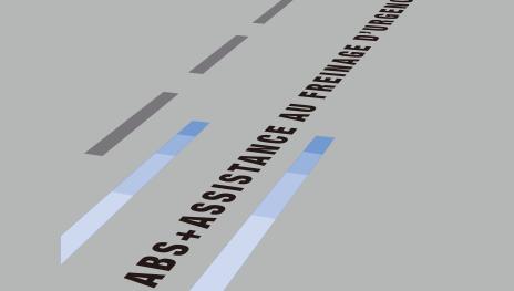 ルーテシア EBD(電子制御制動力配分システム)付ABSEBA(緊急時ブレーキアシスト)