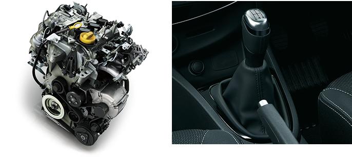 ルーテシア 0.9Lエンジン+5MT