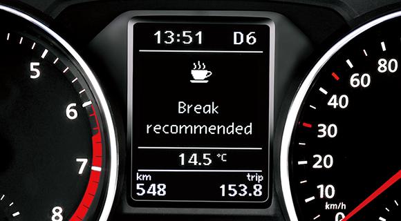 t-roc ドライバー疲労検知システム