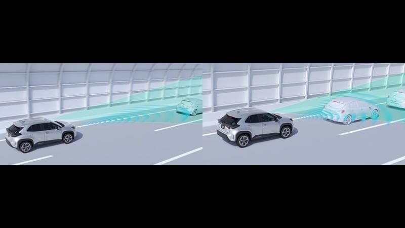ヤリスクロス レーダークルーズコントロール(全車速追従機能付)