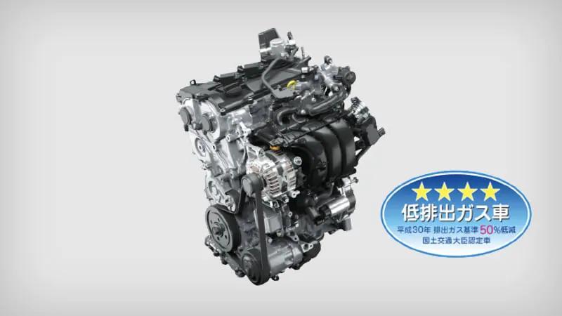 ヤリスクロス 1.5Lダイナミックフォースエンジン