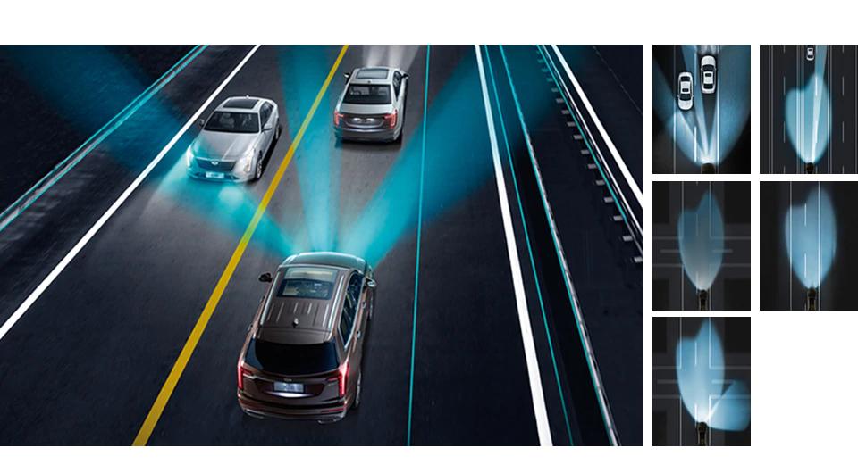 XT6 アダプティブヘッドライトシステム