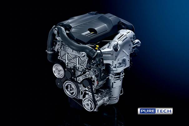 508 1.6L PureTechツインスクロールターボエンジン