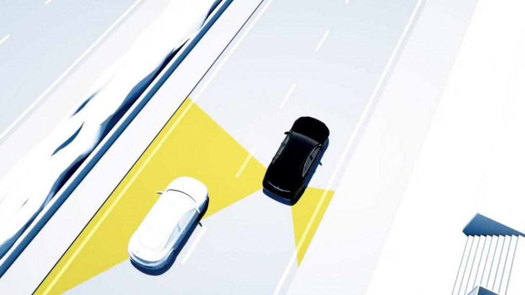 CLAシューティングブレーク アクティブブラインドスポットアシスト(降車時警告機能付)