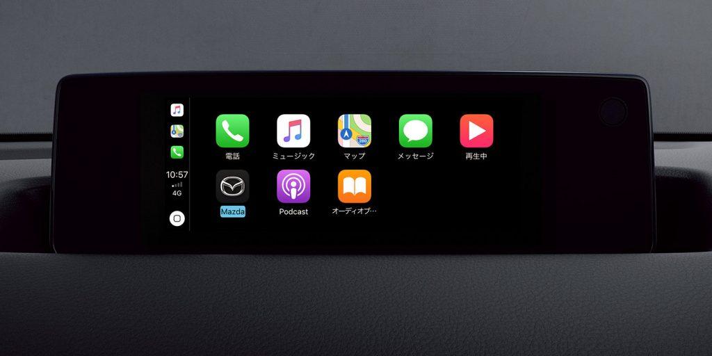 MX-30 Apple CarPlay、Android Auto