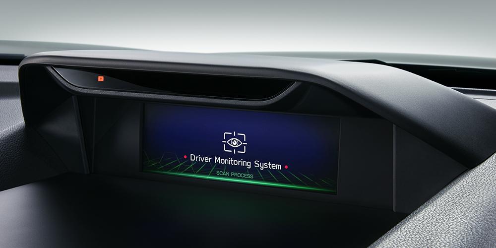 フォレスター ドライバーモニタリングシステム