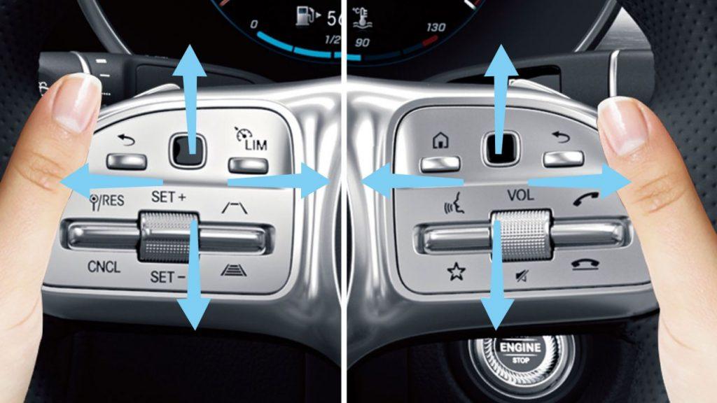 GLC タッチコントロールボタン