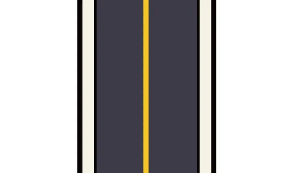 交通違反 黄色の実線