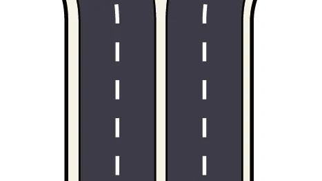 交通違反 白色の実線