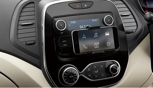 キャプチャー R&Goアプリ対応ラジオ(AM・FMUSBBluetooth機能)+防塵フィルター付オートエアコン