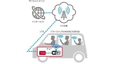 ノート docomo in Car Connect
