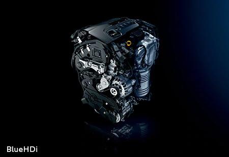 3008 2.0L BlueHDi ディーゼルターボエンジン