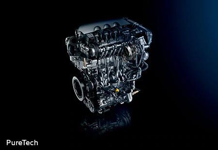 3008 1.6L PureTechツインスクロールターボエンジン