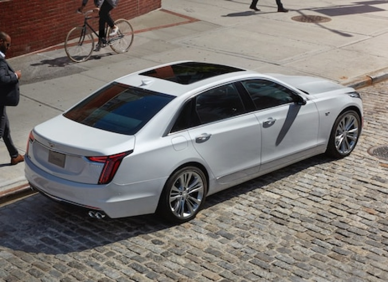 CT6 リアビュー
