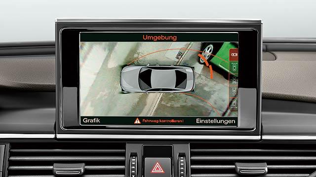 e-tron Sportback サラウンドビューカメラ