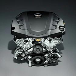 CT6 エンジン