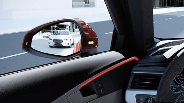 e-tron Sportback エグジットワーニング