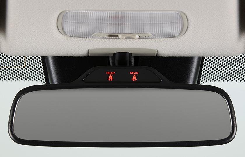 N-ONE 後席シートベルト締め忘れ警告灯(シートベルトリマインダー付)