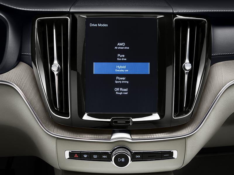 XC60 ドライブモード・セッティング
