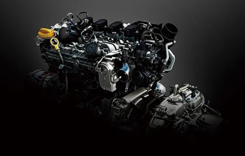 キャプチャー 1.3L直噴ターボエンジン