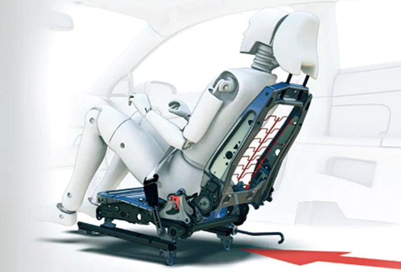 XC60 WHIPS(後部衝撃吸収リクライニング機構付フロントシート)