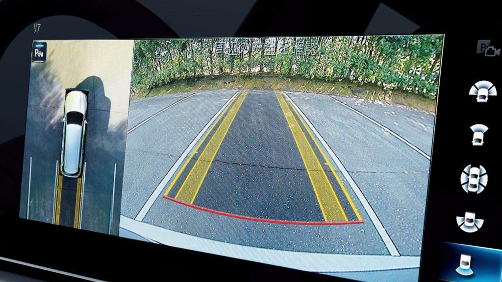 GLS 360°カメラシステム&アクティブパーキングアシスト