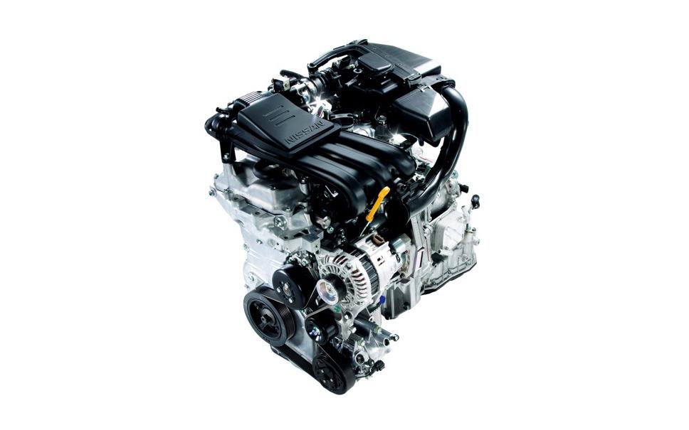 マーチ HR12DEエンジン