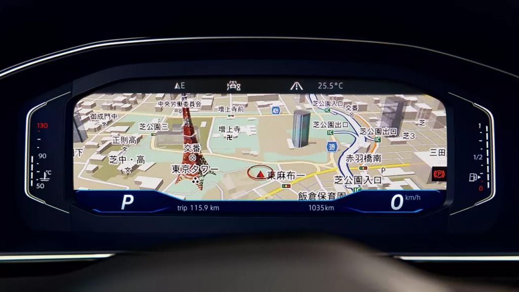 パサート デジタルメータークラスター Digital Cockpit Pro