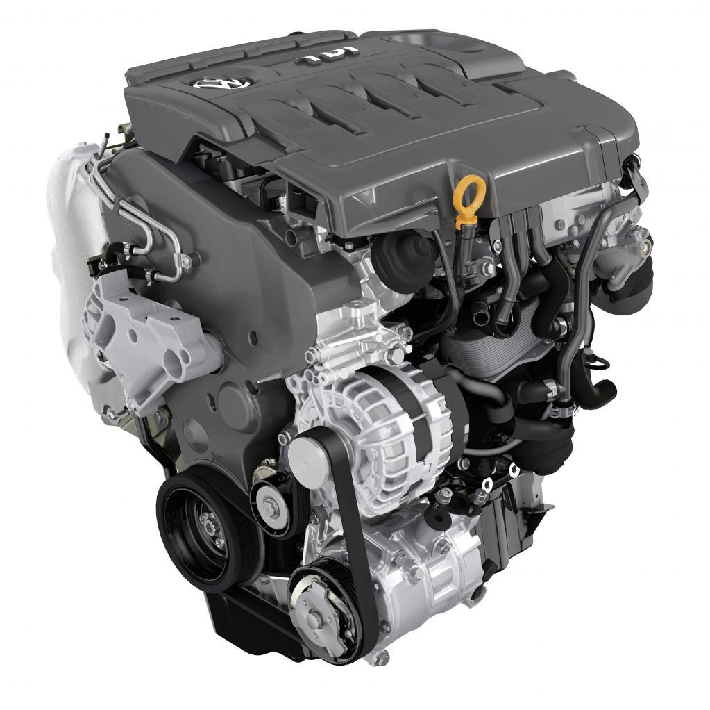 パサート 2.0L TDIエンジン